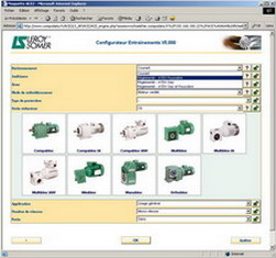 Online catalogue for Leroy Somer - product configurator