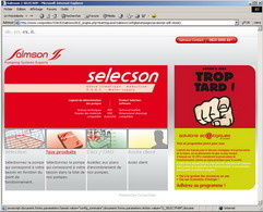 Online catalogue for SALMSON - product configurator