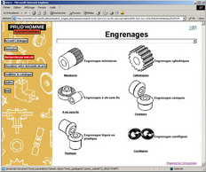 Online catalogue for PRUDHOMME - product configurator